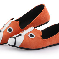 Colorful cat and dog face women' flats, woman fashion shoes, cartoon ladies shoes, women flat casual shoes 2014-in Flats from Shoes on Aliexpress.com | Alibaba Group