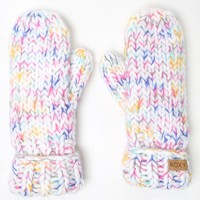 Roxy Nola Snow Mittens - Womens Sweaters - Multi - One