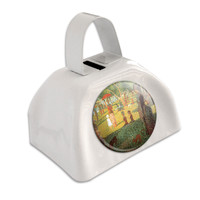 A Sunday Afternoon on Island of La Grande Jatte - Georges Seurat White Cowbell Cow Bell