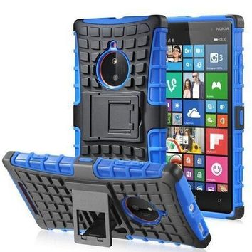 Rugged Armor Case For Nokia Lumia 820 830 930 Case TPU & PC Dual Cover Protective Phone Case For Nokia Lumia 930 830 820 Case