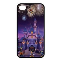 Mystic Zone Cartoon Disney Dream Castle Case for iPhone 4 4S TPU Back Cover Fits Cases KEK1535