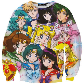 Sailor Moon Anime Crewneck