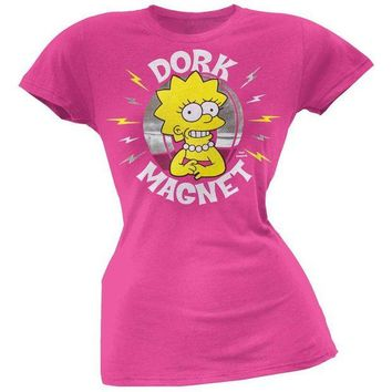 DCCKIS3 Simpsons - Dork Magnet Juniors T-Shirt