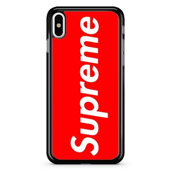 Supreme 77 iPhone X Case
