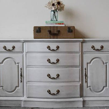 Stunning Long Frenchy Buffet Sideboard Dresser
