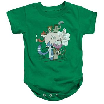 Regular Show - Regular Cast Infant Snapsuit Officially Licensed Baby Clothing