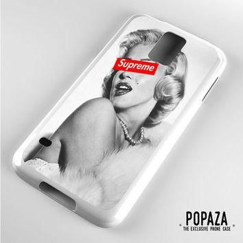 Marilyn Monroe supreme Samsung Galaxy S5 Case
