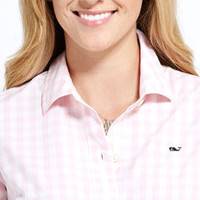 Women's Shirts: Medium Gingham Shirt for Women - Vineyard Vines