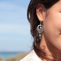 National Style Hollow Out Beautiful Earrings