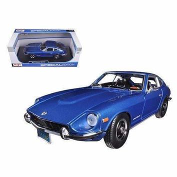 1971 Datsun 240Z Blue 1/18 Diecast Car Model by Maisto