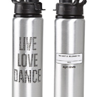Live to Love to Dance Water Bottle
