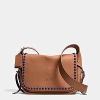 RIVETS DAKOTAH CROSSBODY IN CALF LEATHER