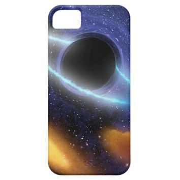 NASAs Black hole grabs starry snack iPhone 5 Cover