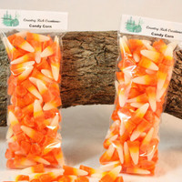 Candy Corn Tart Candles, Halloween Candle Melts,, Candy Corn Scented Candles, Halloween Decoration