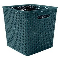 "Y-weave basket bin - 11"" - Cloudy Turquoise - Room Essentials™"