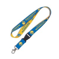 NBA Golden State Warriors Lanyard with Detachable Buckle