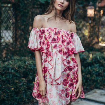 FLORAL ARTIST TUNIC