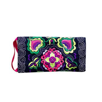 Whole Sale Women Ethnic Handmade Embroidered coin purses Wristlet Clutch Bag Vintage Coin Purse Wallet monederos para monedas #Y