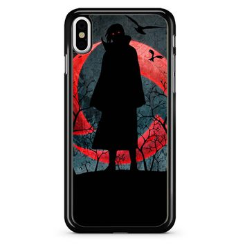 Uchiha Itachi Naruto iPhone X Case