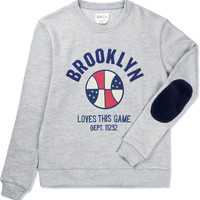Grey BK Love This Game Sweater