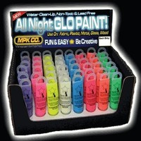 Next Generation SUPER Glow in the Dark (And Blacklight) Paint