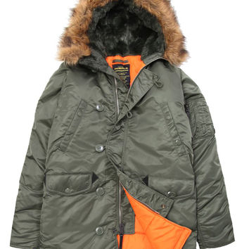 Alpha Industries - N-3B Slim Fit Parka (Sage)