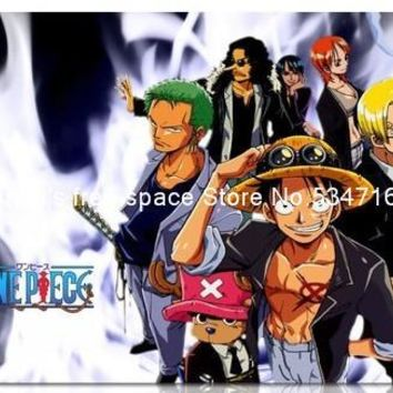 One Piece anime cute family portrait mousepad office gaming mouse pad gamer large notbook computer mouse mat gear mouse pad