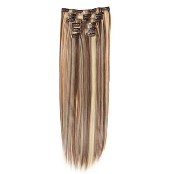 Hair Extension 7pcs Suit Wig 120g    12/613#