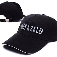 Iggy Azalea Logo Adjustable Baseball Caps Unisex Snapback Embroidery Hats
