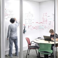 Whiteboard Vinyl Wall Sticker