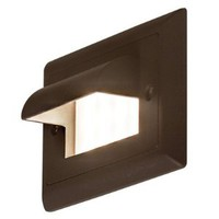 Ledra Step Light Finish: Bronze, LED Color: Amber