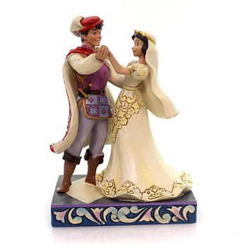 Jim Shore THE FIRST DANCE Polyresin Snow White Prince Wedding 4056747