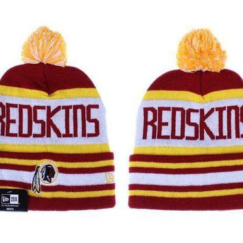 ESB8KY Washington Redskins Beanies New Era NFL Football Cap