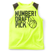 Athletic Jersey Muscle Tee