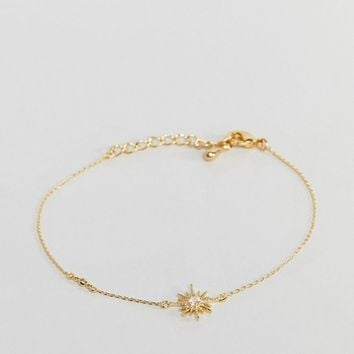 Limited Edition Delicate Star Bracelet at asos.com