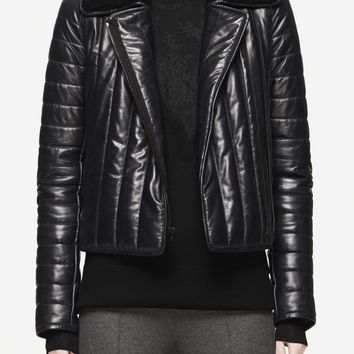Shop the Quilted Leather Bomber on rag & bone