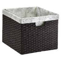 Threshold™ Paper Rope Large Crate - Dark Brown