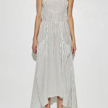 Railroad Stripe Dress