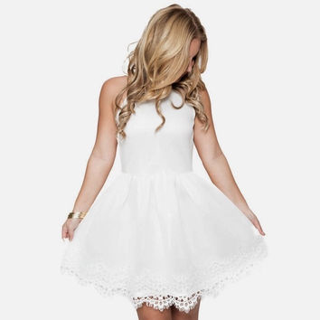 Sweet As Sugar Skater Dress
