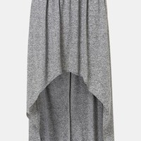 Topshop Foldover High/Low Maxi Skirt | Nordstrom