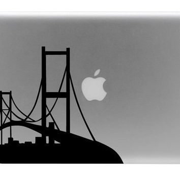 Golden Gate Bridge Macbook Decal / Macbook Sticker