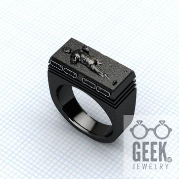 Hunters Bounty Ring- Now Pay Me.- Gents