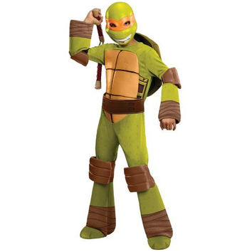 Child's Costume: Teenage Ninja Mutant Turtles Michelangelo Deluxe | Small