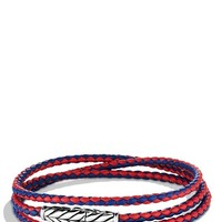 Men's David Yurman 'Chevron' Triple-Wrap Bracelet