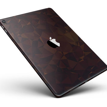 """Dark Copper Abstract Geometric Shapes Full Body Skin for the iPad Pro (12.9"""" or 9.7"""" available)"""