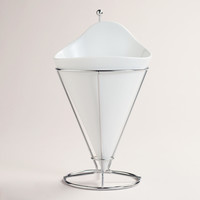 French Fries Cone with Stainless Steel Stand - World Market