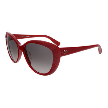 Valentino Red Cat Eye Valentino Sunglasses