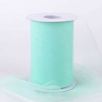 Mint Green Tulle Roll