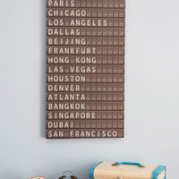 All Aboard Departure Sign | Mod Retro Vintage Wall Decor | ModCloth.com