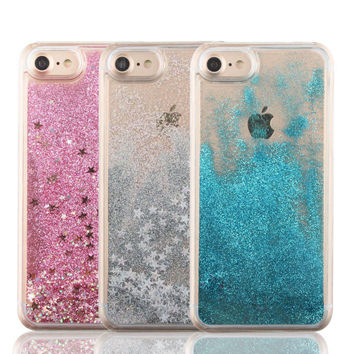 Liquid iPhone Glitter Case